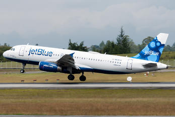 N638JB - JetBlue Airways Airbus A320