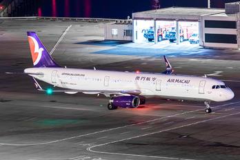 B-MCG - Air Macau Airbus A321