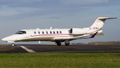 G-ZENJ - Zenith Aviation Limited Bombardier Learjet 75 (LJ75)