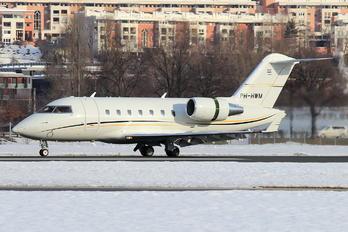 PH-HWM - Air Service Liege Canadair CL-600 Challenger 605