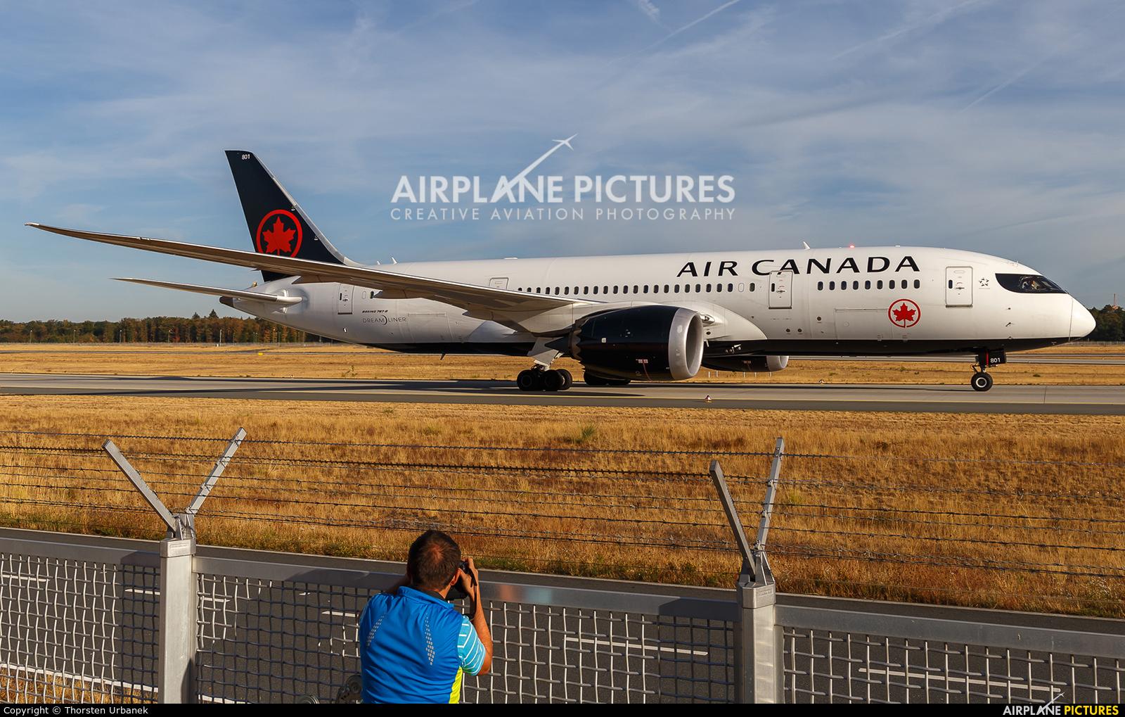 Air Canada C-GHPQ aircraft at Frankfurt