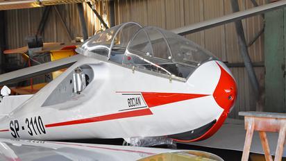 SP-3110 - Aeroklub Częstochowski PZL SZD-9 Bocian