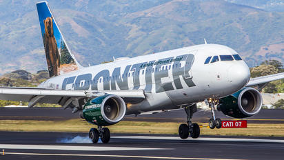 N951FR - Frontier Airlines Airbus A319