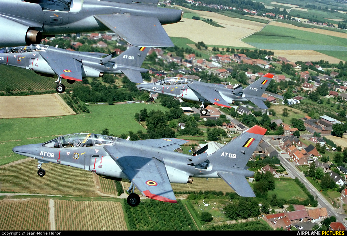 Belgium - Air Force AT08 aircraft at