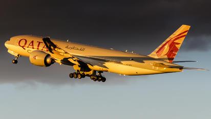 A7-BFT - Qatar Airways Cargo Boeing 777F