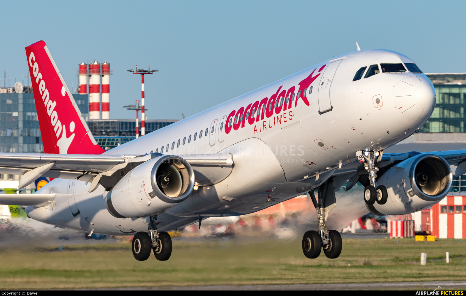 Corendon Airlines ZS-GAS aircraft at Prague - Václav Havel