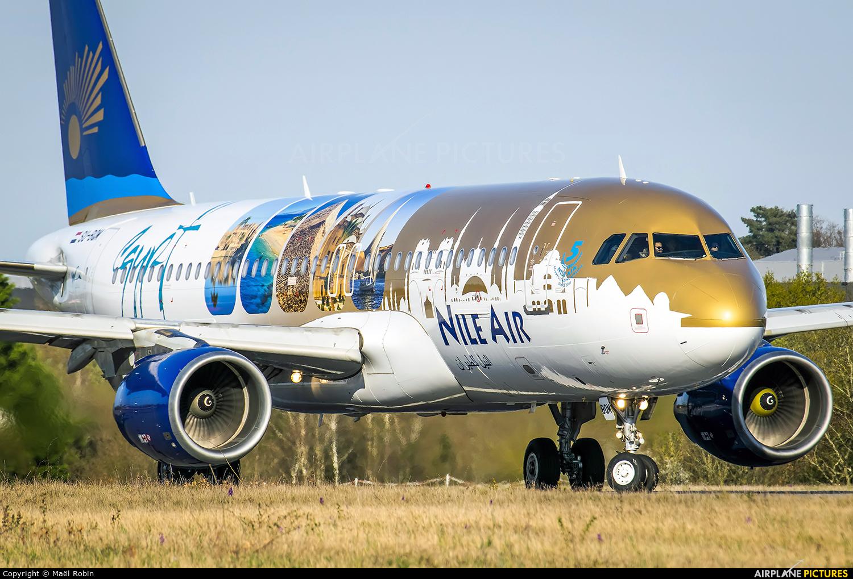 Nile Air SU-BQM aircraft at Nantes - Atlantique