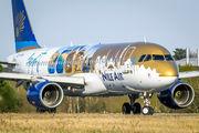 SU-BQM - Nile Air Airbus A320 aircraft