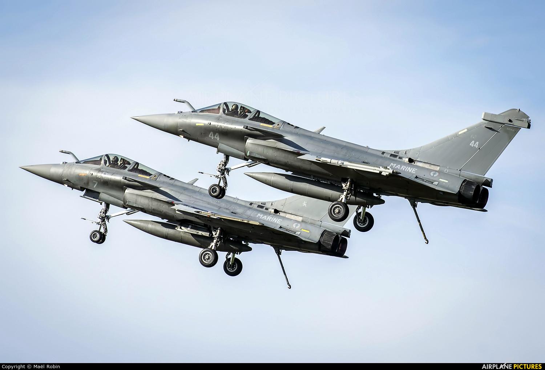 France - Navy 44 aircraft at Morlaix Ploujean Airport