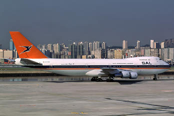 ZS-SAO - South African Airways Boeing 747-200