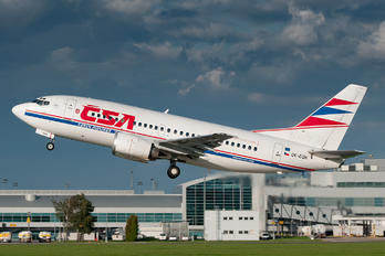 OK-CGH - CSA - Czech Airlines Boeing 737-500