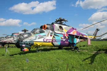 486 - Ukraine - Air Force Mil Mi-24V