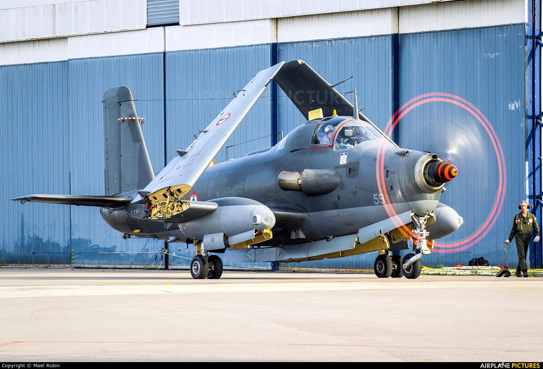France - Navy F-AZYI aircraft at Morlaix Ploujean Airport