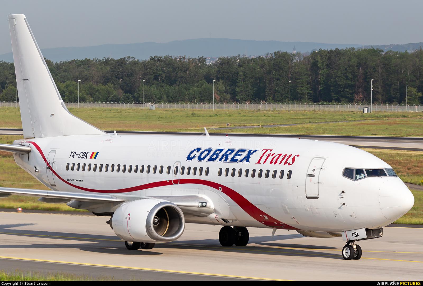 Cobrex Trans YR-CBK aircraft at Frankfurt