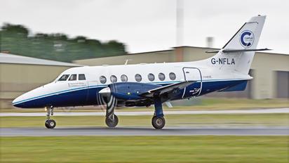 G-NFLA - Cranfield University Scottish Aviation Jetstream 31