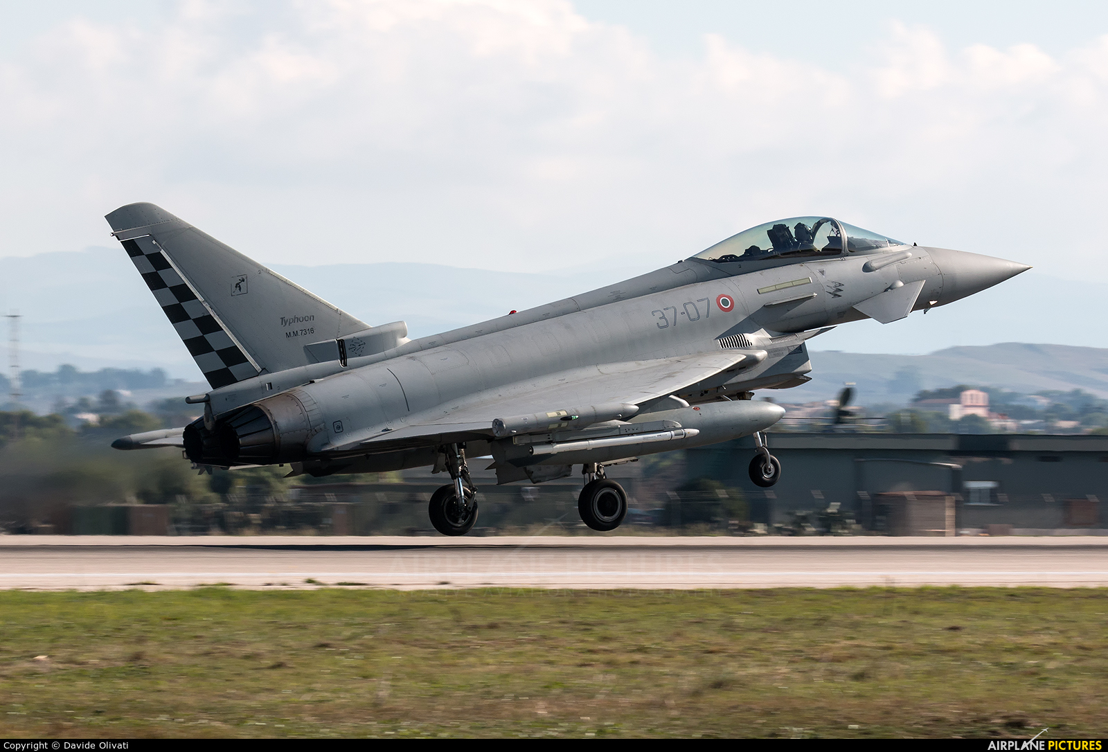 Italy - Air Force MM7316 aircraft at Trapani - Birgi