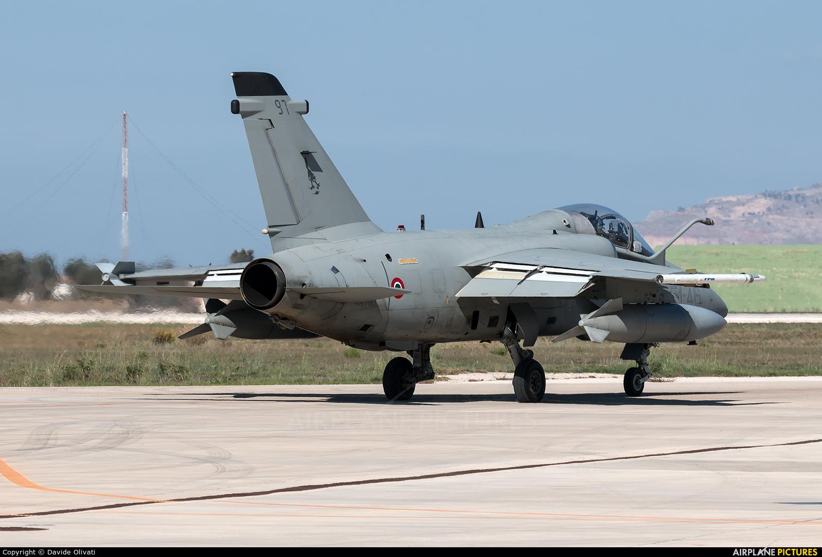 Italy - Air Force MM7197 aircraft at Trapani - Birgi