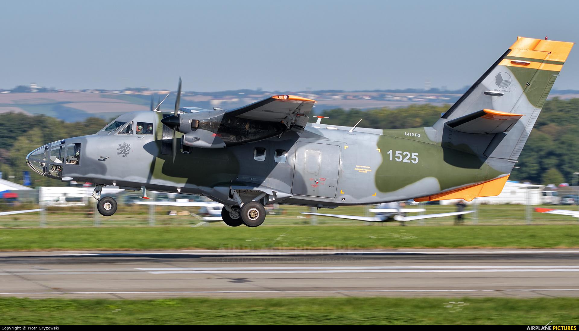 Czech - Air Force 1525 aircraft at Ostrava Mošnov