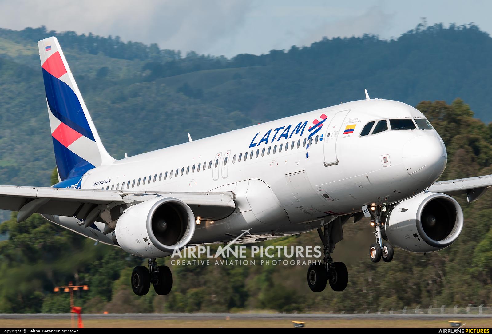 LATAM CC-BAR aircraft at Medellin - Jose Maria Cordova Intl