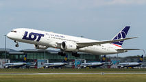 SP-LSA - LOT - Polish Airlines Boeing 787-9 Dreamliner aircraft