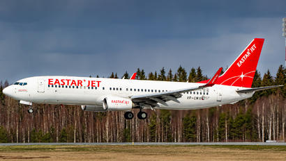VP-CMX - Eastar Jet Boeing 737-86X(WL)