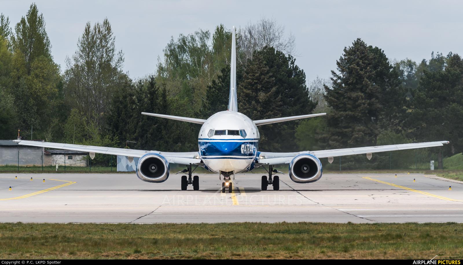 Atran VP-BCK aircraft at Pardubice