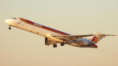 EC-EZS - Iberia McDonnell Douglas MD-87