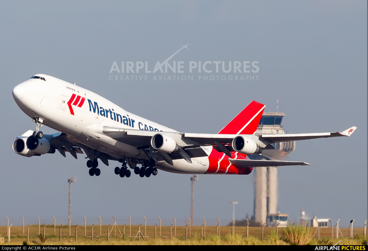 Martinair Cargo PH-MPS aircraft at Campinas - Viracopos Intl