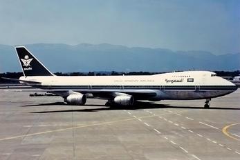 HZ-AIC - Saudi Arabian Airlines Boeing 747-100