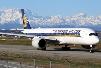 9V-SMQ - Singapore Airlines Airbus A350-900
