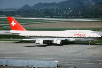 N221GF - Swissair Boeing 747-300