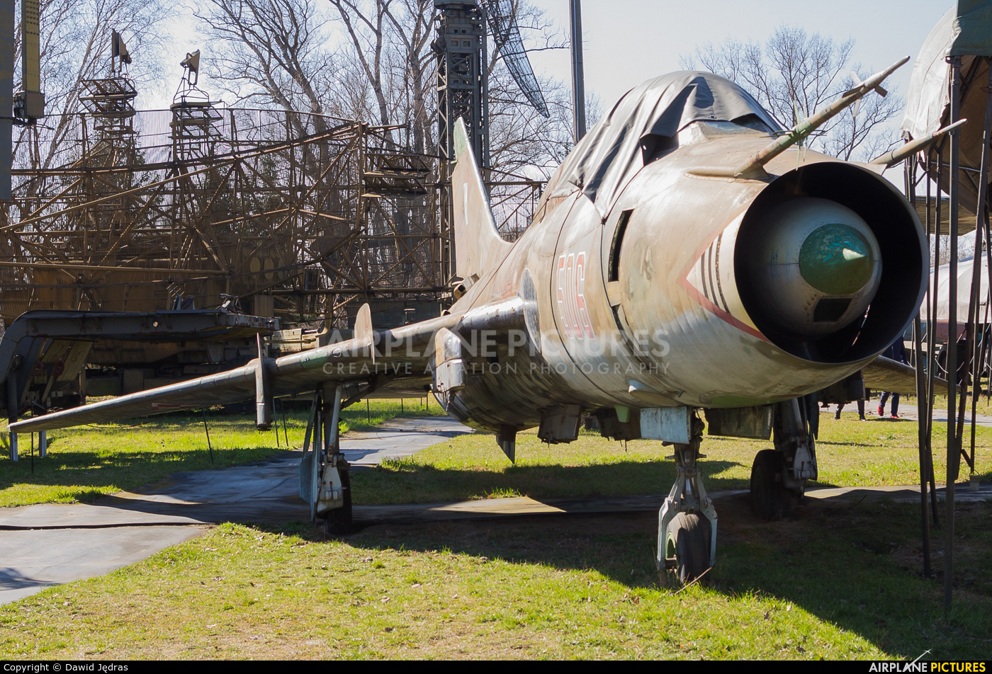 Poland - Air Force 506 aircraft at Warsaw - Fort Czerniakowski Museum