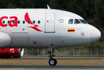 N695AV - Avianca Airbus A319