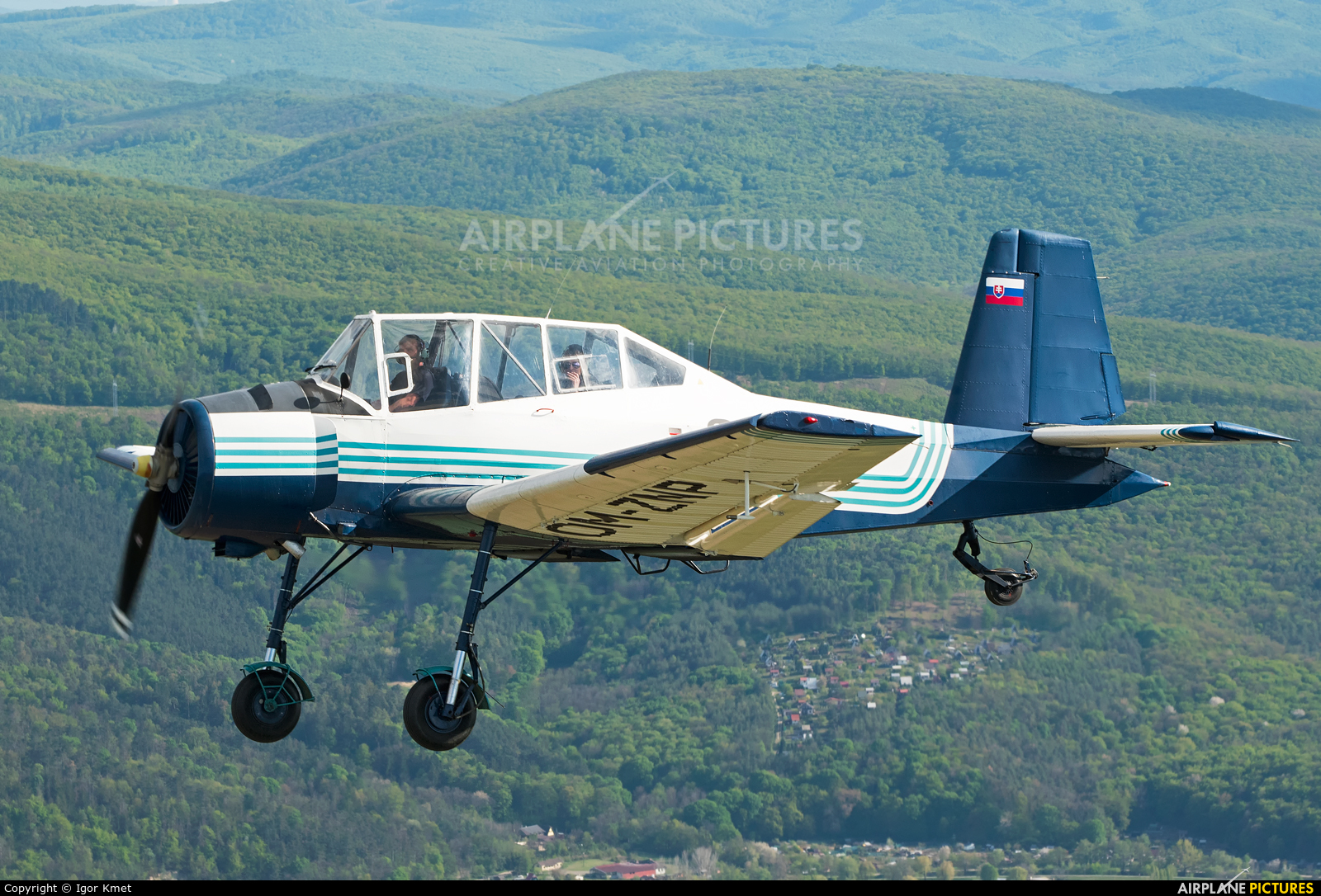 Private OM-ZNP aircraft at In Flight - Slovakia