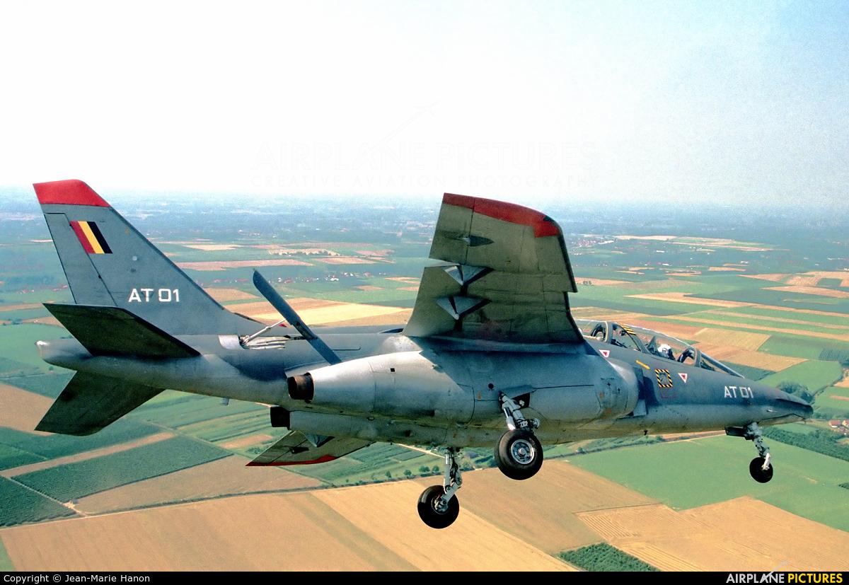 Belgium - Air Force AT01 aircraft at St Truiden/Bruste