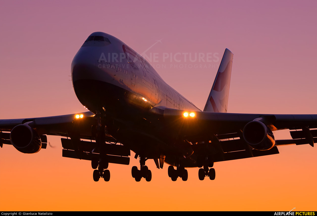 British Airways G-CIVN aircraft at London - Heathrow