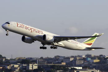 ET-ATY - Ethiopian Airlines Airbus A350-900