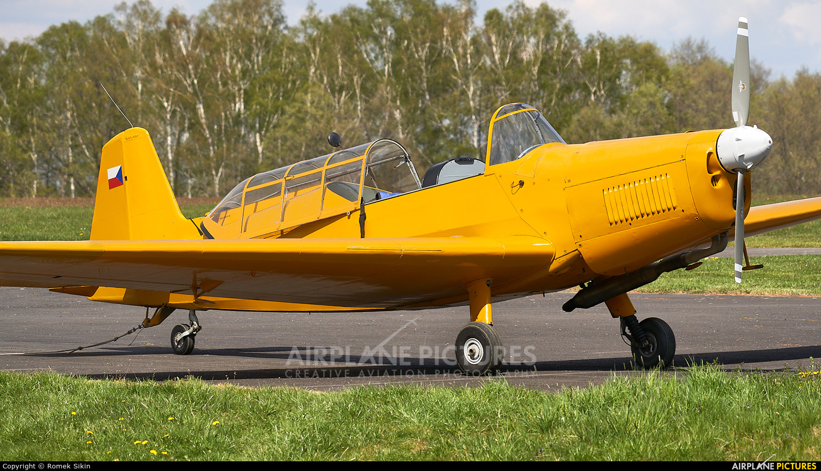 Private OK-MPA aircraft at Frýdlant nad Ostravicí