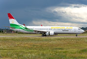 Somon Air B739 brought medical supplies to Verona title=
