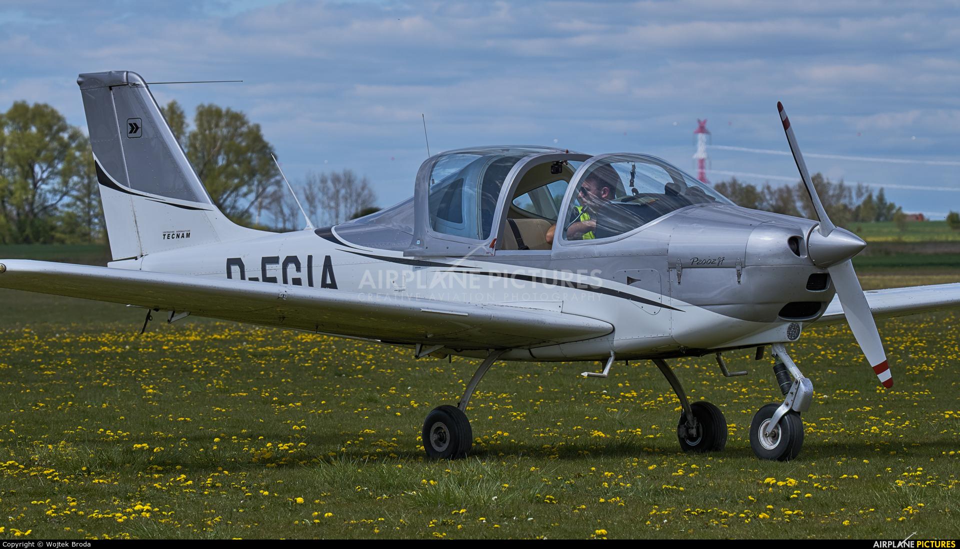 Private D-EGIA aircraft at Wrocław - Szymanów