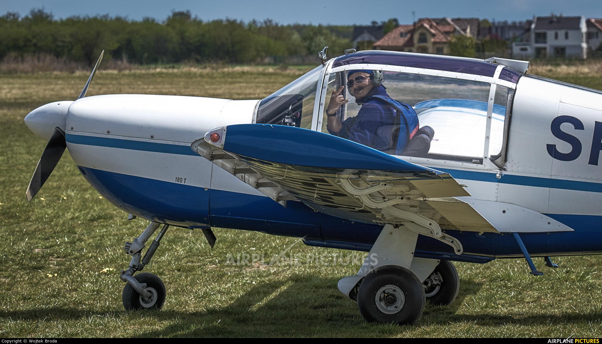 Private SP-GAL aircraft at Wrocław - Szymanów