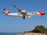 HB-JMG - Edelweiss Airbus A340-300 aircraft
