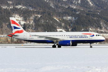 G-EUYG - British Airways Airbus A320