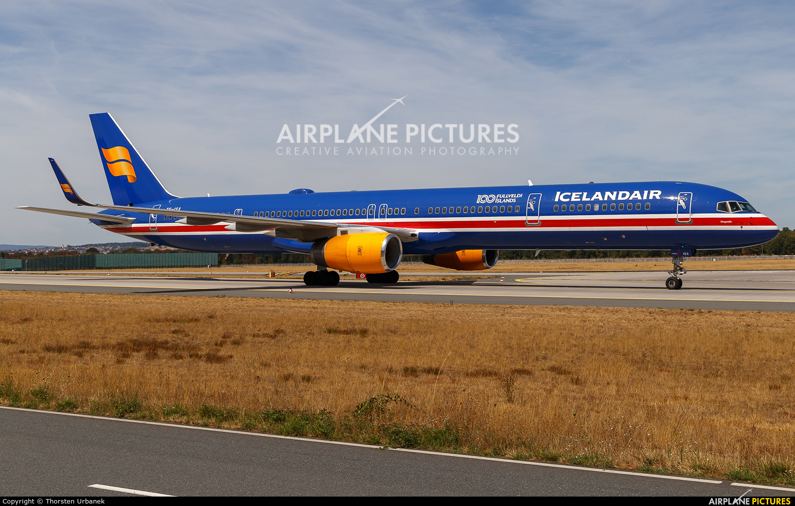 Icelandair TF-ISX aircraft at Frankfurt