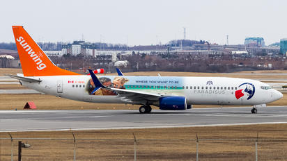 C-GKVL - Sunwing Airlines Boeing 737-800