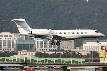 N858CG - Private Gulfstream Aerospace G650, G650ER
