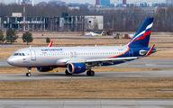 VP-BTI - Aeroflot Airbus A320 aircraft