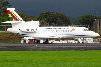 FAB-001 - Bolivia - Government Dassault Falcon 900 series