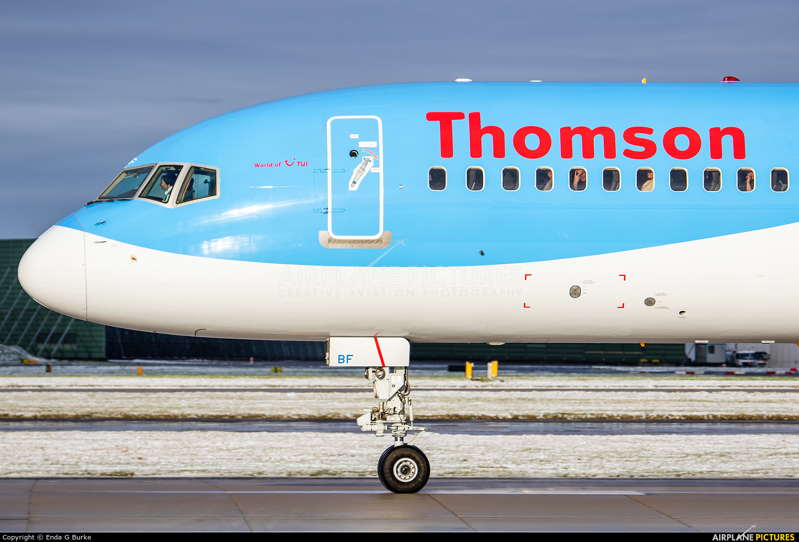 Thomson/Thomsonfly G-OOBF aircraft at Manchester