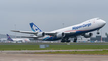 JA15KZ - Nippon Cargo Airlines Boeing 747-8F aircraft